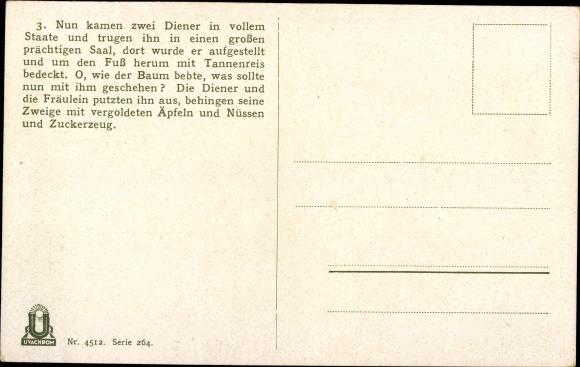 Märchen Von Hans Christian Andersen Der Tannenbaum.Künstler Ansichtskarte Postkarte Herrfurth Oskar Der Akpool De