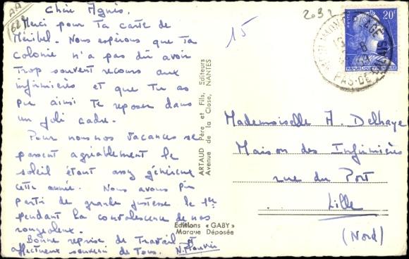 Postcard Merlimont Plage Pas De Calais Un Coin De La Plage Eglise Hotel De La Plage Avenue De La Plage