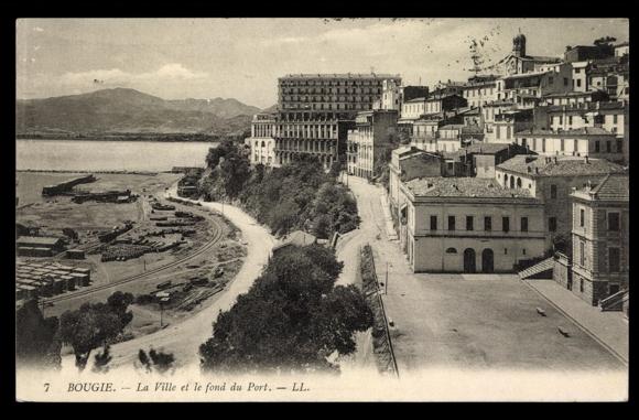 carte postale bougie algerien la ville et le fond du akpool fr