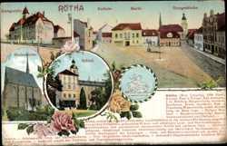 Nett Postkarte Ansichtskarte Sachsen Delitzsch Ansichten & Landkarten Deutschland