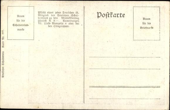 Gedicht Ansichtskarte Postkarte Joseph Victor Von Akpoolde