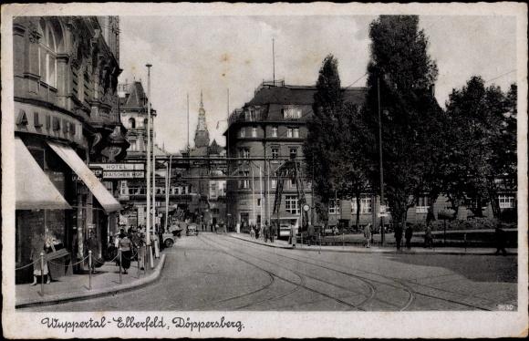 Ansichtskarte postkarte wuppertal elberfeld for Hotel wuppertal elberfeld
