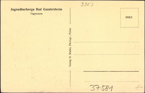 ansichtskarte postkarte bad gandersheim tagesraum der. Black Bedroom Furniture Sets. Home Design Ideas