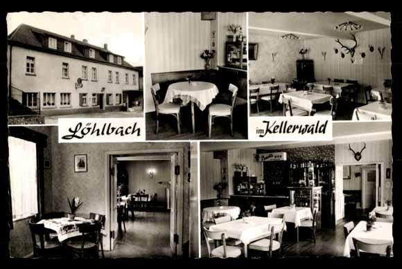 ansichtskarte postkarte l hlbach haina kloster pension fleischerei schr der. Black Bedroom Furniture Sets. Home Design Ideas