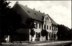 Postcard Oroshaza Ungarn, Kir, Adohivatal Palotaja, Haus