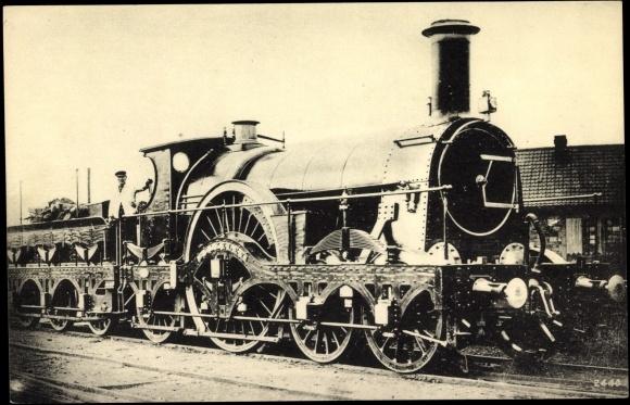 ansichtskarte postkarte eisenbahn england great western railway lokomotive. Black Bedroom Furniture Sets. Home Design Ideas
