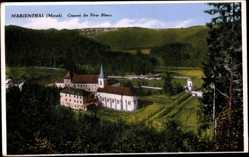 Postcard Marienthal Mersch Luxemburg,Couvent des Pêres Blancs