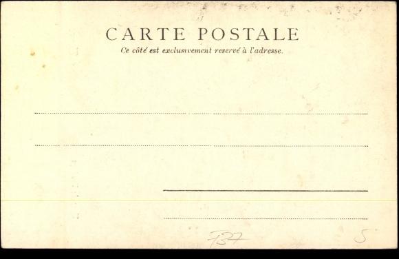 Derrière Carte postale Tours en Indre et Loire, Tour de l'horloge