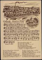Lieder Ak Kaufmann,Oelsnitz,Glück Auf,Erzgebirgslied