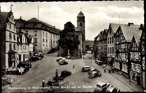 Ansichtskarte postkarte hachenburg im westerwald alter for Hachenburg versand