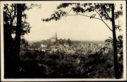 Postcard Kronberg Taunus, Waldblick zum Ort hin, Burg, Siedlung