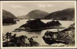 Postcard Killarney Irland, Blick auf den oberen See mit Berglandschaft