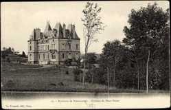 Cp Nonancourt Eure et Loir, vue générale du Château du Haut Venet