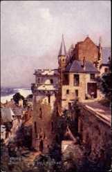 Künstler Ak Amboise Indre et Loire, vue générale de la Grosse Tour du Château