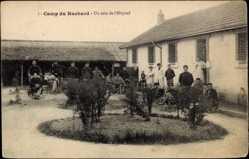 Cp Ruchard Indre et Loire, vue générale d'un coin de l'Hopital dans le Camp