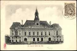 Cp Tours en Indre et Loire, Vue du nouvel hotel de ville