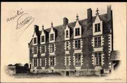 Cp La Riche en Indre et Loire, Chateau Le Plessis les Tour