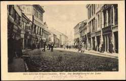 Judaika Ak Vilnius Wilna Litauen, Das Geschäftsviertel der Juden