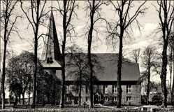 Postcard Bargteheide Schleswig Holstein, Blick auf die Kirche
