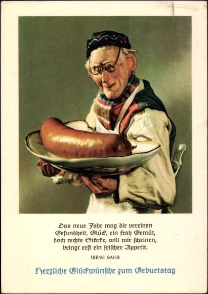 Ansichtskarte / Postkarte Glückwunsch Geburtstag, Alter ...
