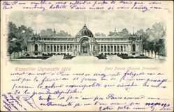 Cp Paris, Exposition Universelle 1900, Petit Palais, Facade Principale
