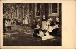 Künstler Ak Liebermann, Max, Amsterdam Nordholland Niederlande, Waisenhaus