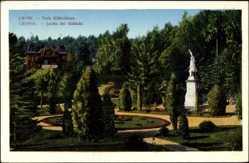 Postcard Lwów Lemberg Ukraine, Park Kilinskiego, Jardin des Kilinski