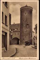 Ak Lubsko Sommerfeld Ostbrandenburg, Blick auf den Büttelturm