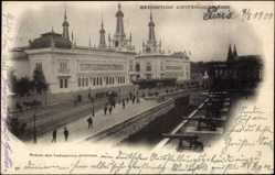 Cp Paris, Expos. Universelle 1900, Palais des Industries diverses, des canons