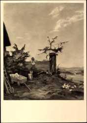 Künstler Ak Traub, Gustav, Ausguck, Haus der deutschen Kunst