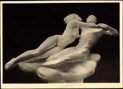 Ak Plastiken, Josef Thorak, Francesca da Rimini, Haus der Deutschen Kunst 553