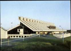Postcard Flughafen Tallinn Reval Estland, Autozufahrt