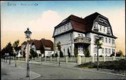 Ak Żary Sorau Ostbrandenburg, Villen in der Heinsiusstraße