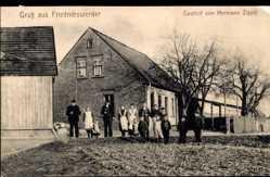 Ak Friedrichswerder Ostbrandenburg, Gasthof von Hermann Zippel