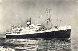 Postcard Compagnie de Navigation Mixte, Paquebot El Mansour