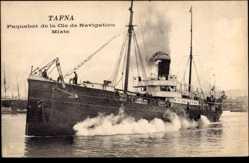Postcard Paquebot Tafna, Dampfschiff, Compagnie de Navigation Mixte