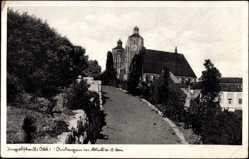 Postcard Ingolstadt an der Donau Oberbayern, Blick auf den Dom