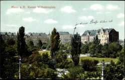 Postcard Riesa an der Elbe Sachsen, Kaiser Wilhelmplatz