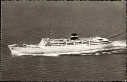 Postcard Alger, Paquebot Kairouan, Dampfschiff, Compagnie de Navigation Mixte