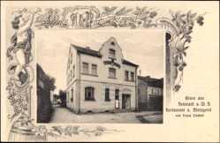 Passepartout Ak Neustadt an der Waldnaab, Restaurant, Metzgerei, Inh. Linder, F.