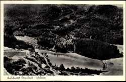 Postcard Fornsbach Murrhardt, Fliegeraufnahme mit dem Walsee