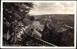 Postcard Eichstätt Bayern, Blick auf die Willibaldsburg, Landschaftsansicht