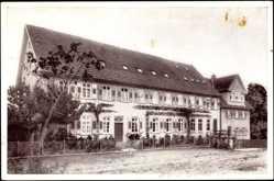 Postcard Kirschenhardthof Burgstetten, Blick auf das Erholungsheim
