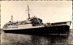 Postcard Paquebot El Djezair, Compagnie de Navigation Mixte