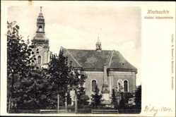 Ak Krotoszyn Krotoschin Posen, Katholische Klosterkirche, Denkmal