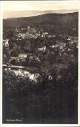 Postcard Mettlach im Kreis Merzig Wadern Saarland, Totalansicht der Stadt