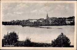 Ak Pełczyce Bernstein Neumark Ostbrandenburg, Stavensee, Kirche