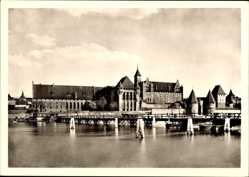Ak Malbork Marienburg Westpreußen, Deutschordensschloss von 1280