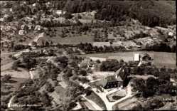 Postcard Murrhardt, Fliegeraufnahme, Blick über den gesamten Ort