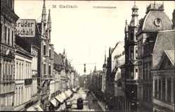 Postcard Mönchengladbach in Nordrhein Westfalen, Blick in die Krefelderstraße